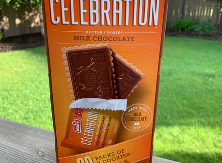Costco Leclerc Celebration Milk Chocolate Cookies Review
