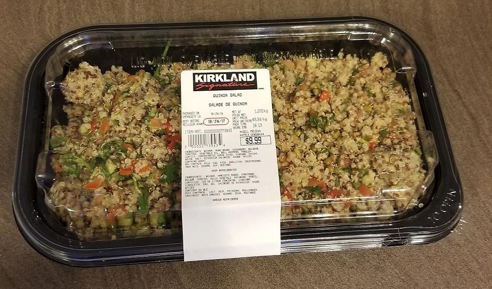 Costco Kirkland Signature Quinoa Salad Review