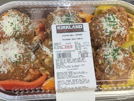 Costco Kirkland Signature Stuffed Peppers Review