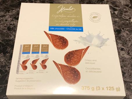 Costco Hamlet Crispy Belgian Chocolate Thins Review
