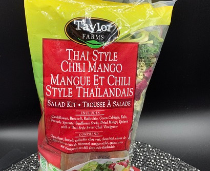 Costco Taylor Farms Thai Style Chili Mango Salad Kit Review