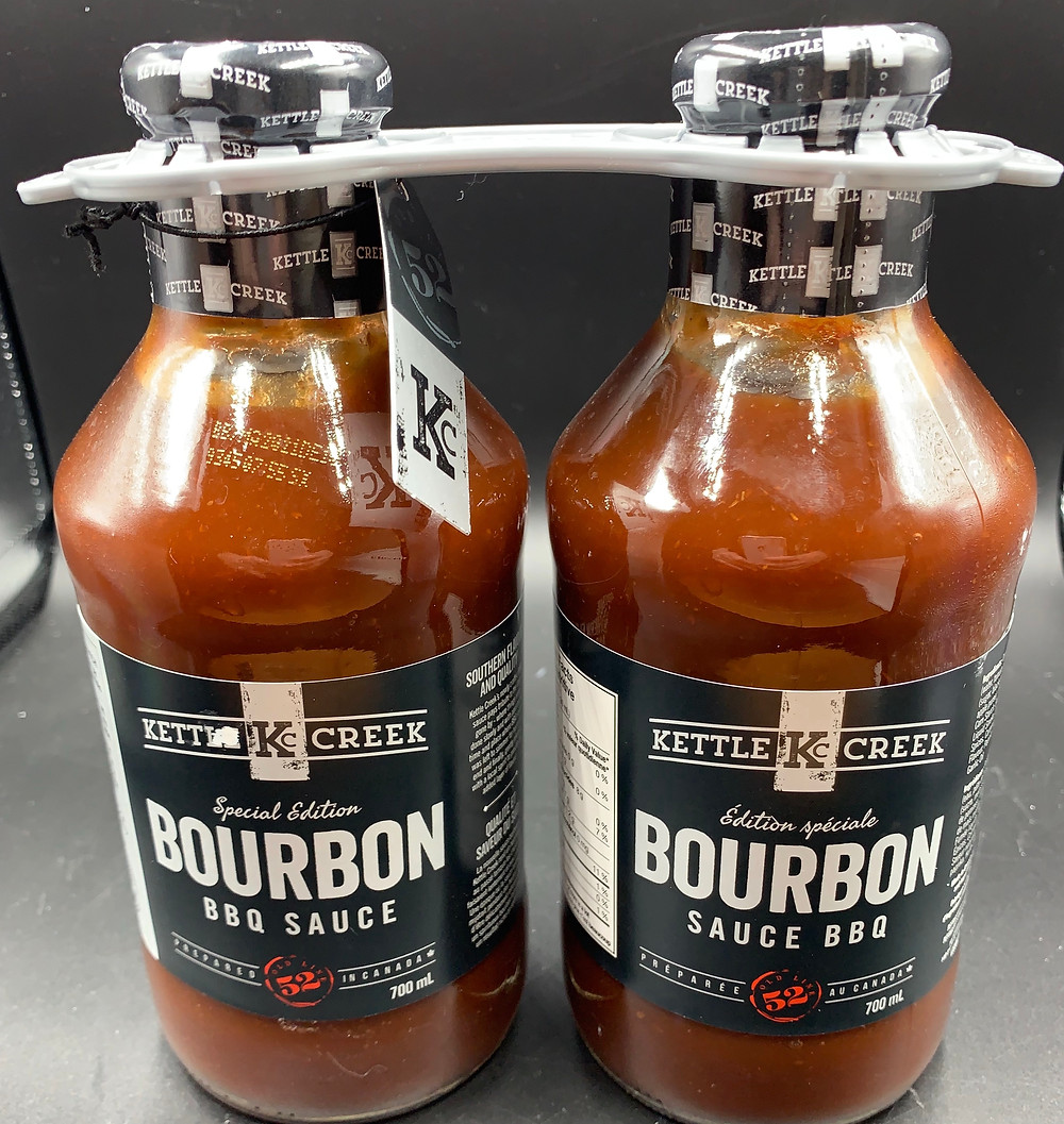 Costco Kettle Creek Limited Edition Bourbon Barbecue Sauce