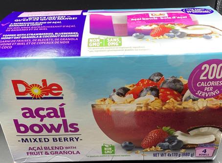 Costco Dole Acai Bowls Review