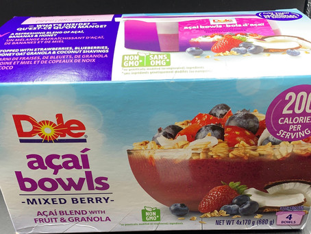 Costco Dole Acai Bowls Review