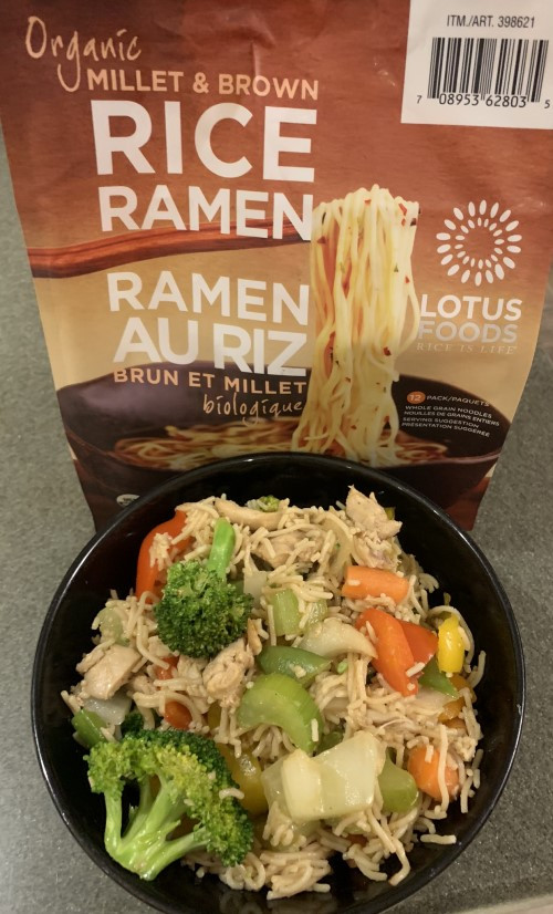 Costco Lotus Foods Organ Millet and Brown Rice Ramen