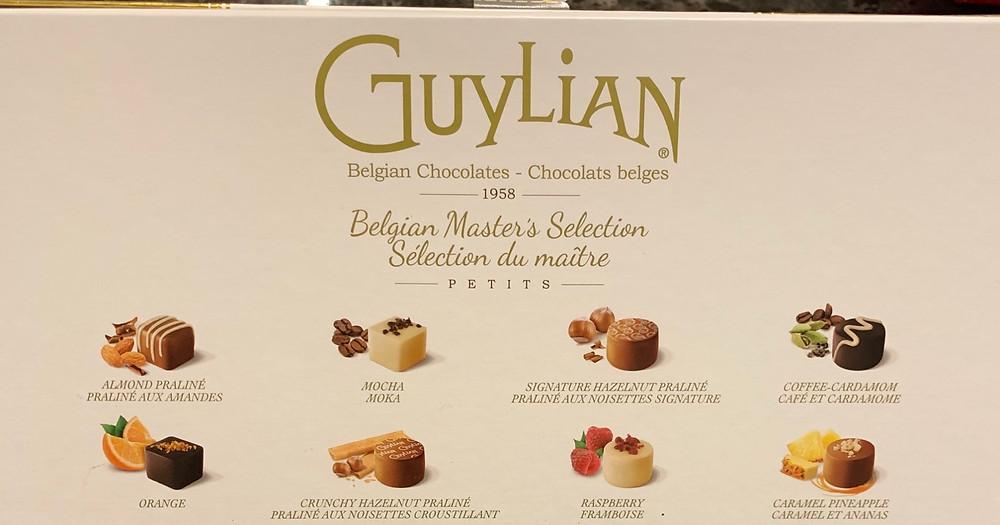 Costco Guylian Beligan Masters Selection