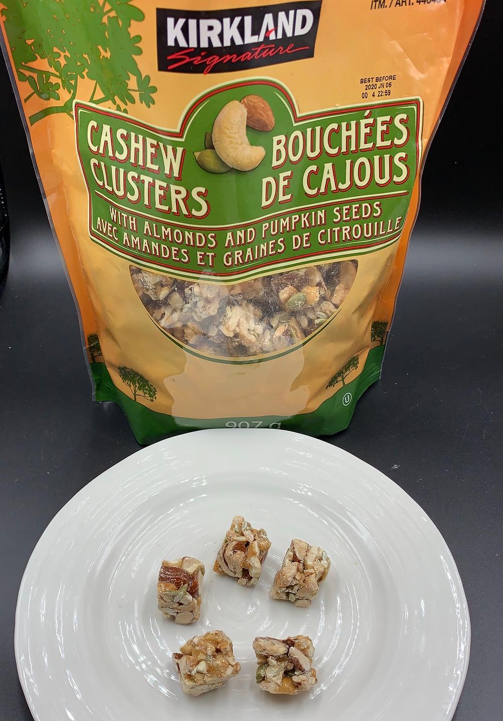 Costco Kirkland Signature Cashew Clusters