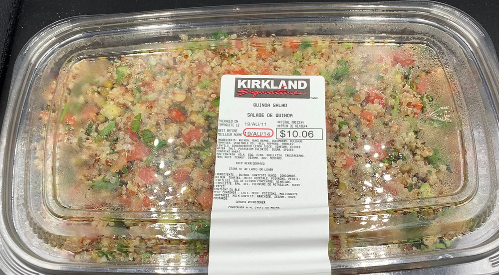Costco Kirkland Quinoa Salad Review
