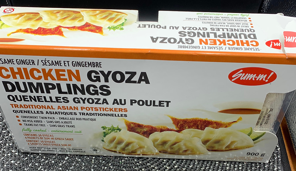 Costco Sum-m! Chicken Gyoza Dumplings