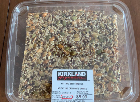 Costco Kirkland Signature Nut and Seed Brittle Review