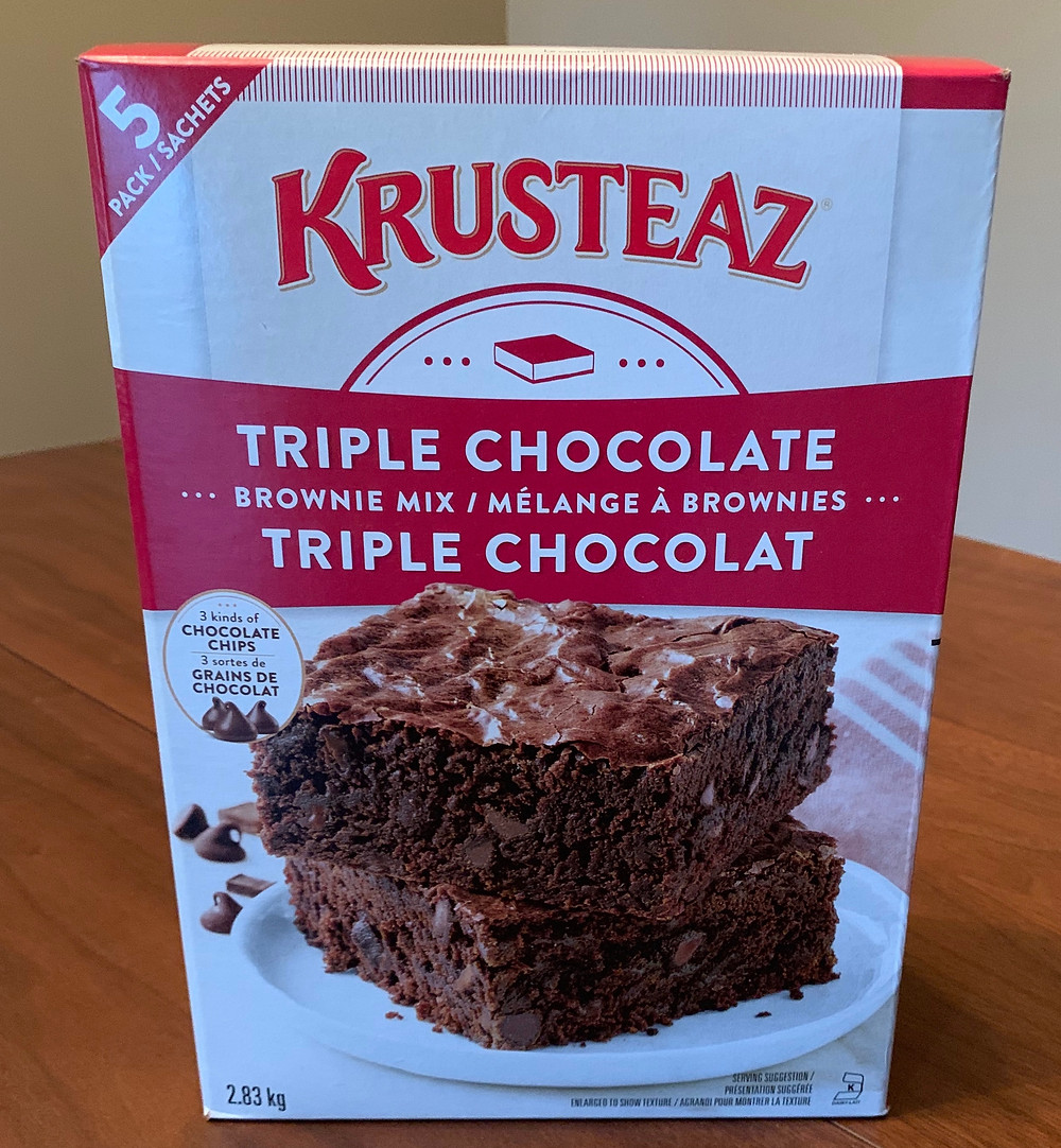 Costco Krusteaz Triple Chocolate Brownie Mix