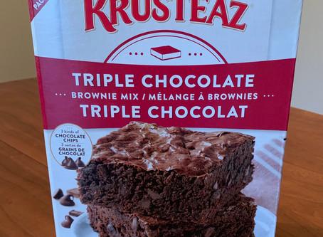 Costco Krusteaz Triple Chocolate Brownie Mix Review
