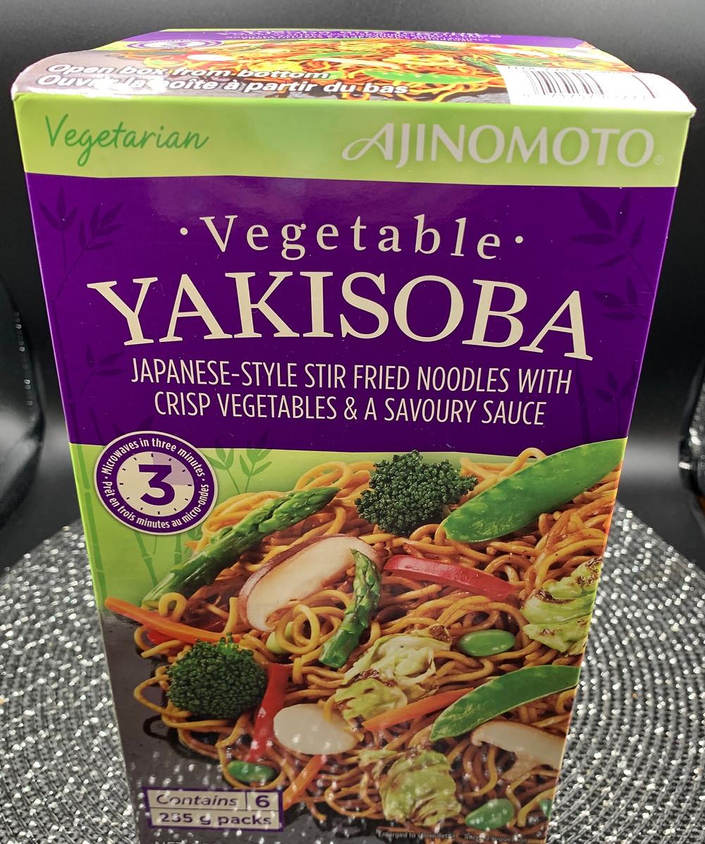 Costco Ajinomoto Vegetable Yakisoba