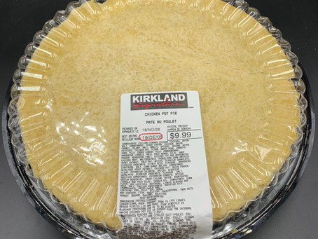 Costco Kirkland Signature Chicken Pot Pie Updated Review and Nutrition Info!