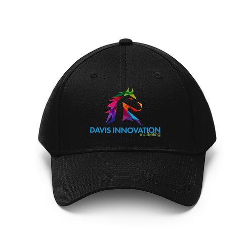 Davis Innovation Unisex Hat in Black, White, Navy