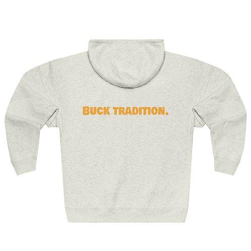 Unisex Buck Tradition Front/Back  Full Zip Hoodie