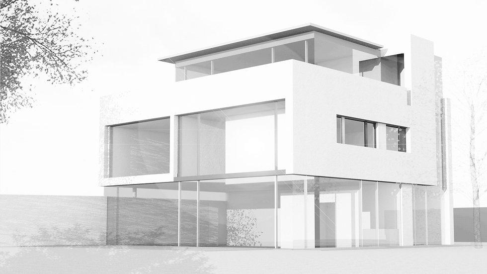 Haus T digitaler Entwurf