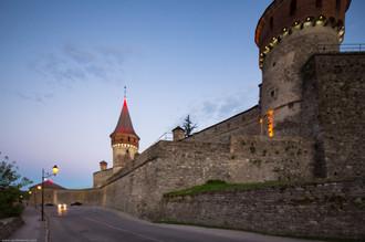 ККаменец-Подольская крепость вечером