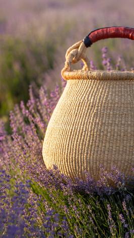 Фотосъемка плетеных сумок для рекламы