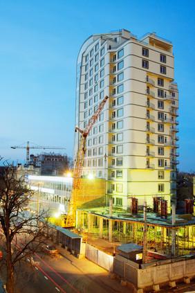 Строительство жилого дома, Одесса.