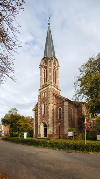 Evangelische Johanneskirche, Ettlingen, Deutchland.