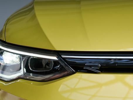 Фотоcъёмка VW Golf mk8