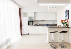 Фотография интерьера кухни. Интерьерный фотограф Ян Волянский.