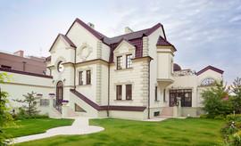 Фасад частного дома