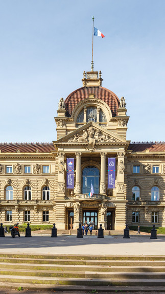 Архитектурная фотография Palais du Rhin