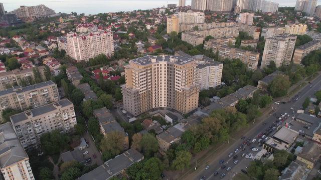 Съёмка недвижимости с дрона.