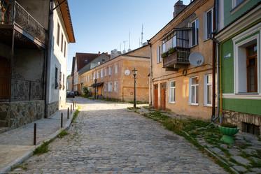 Улица в старом городе Каменец-Подольский