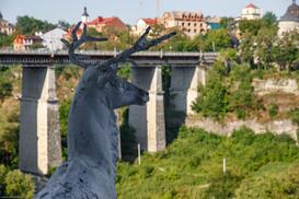 мост к старому центру Каменец-Подольский