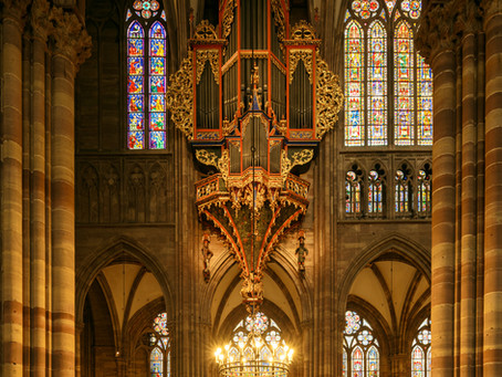 Собор Нотр Дам Страсбурзський Cathédrale Notre-Dame-de-Strasbourg
