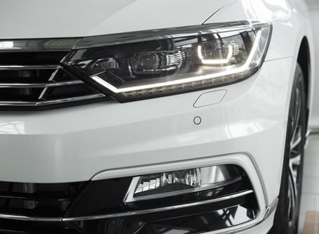 Фотосесія автомобиля VW Passat R-line