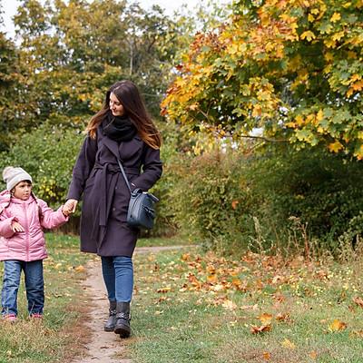 Детская прогулка в парке