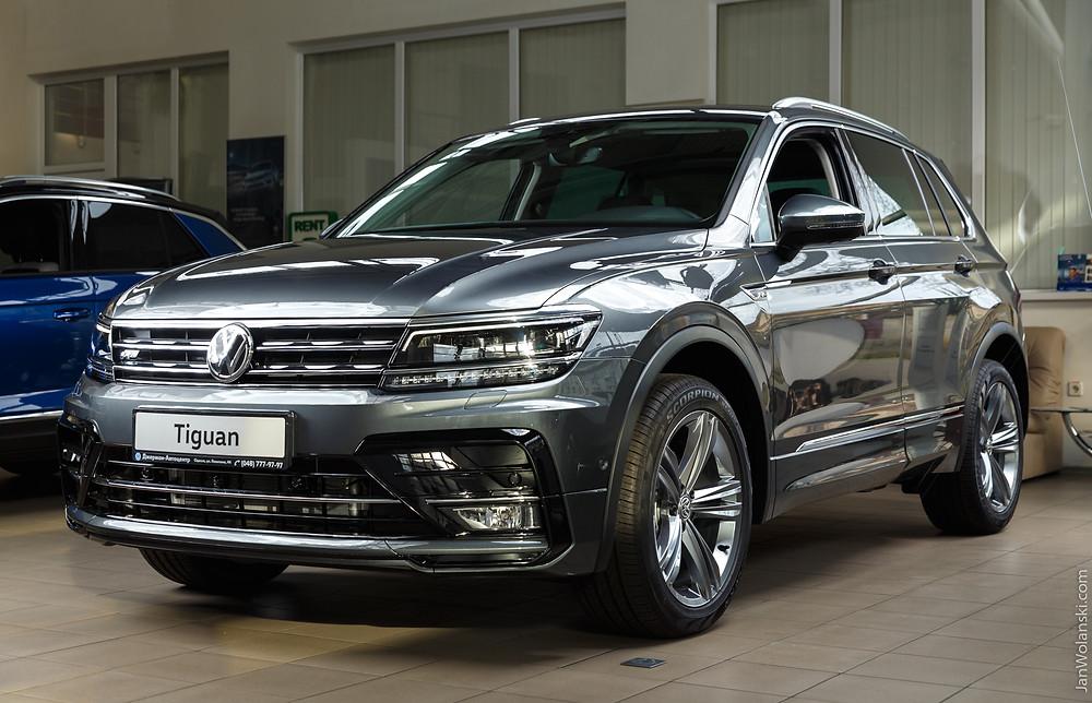 Volkswagen Tiguan R-line exterior