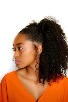 Makeup Artist: Larissa Lane Hair Stylist: Larissa Lane Photographer: Emmai Alaquiva Model: Emonie Campbell