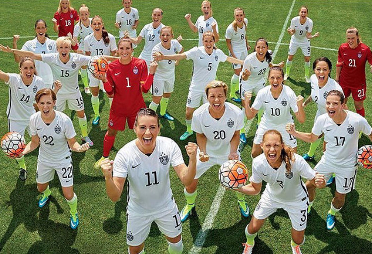 2015 Glamour Magazine Women of the Year (US Womens Soccer Team)
