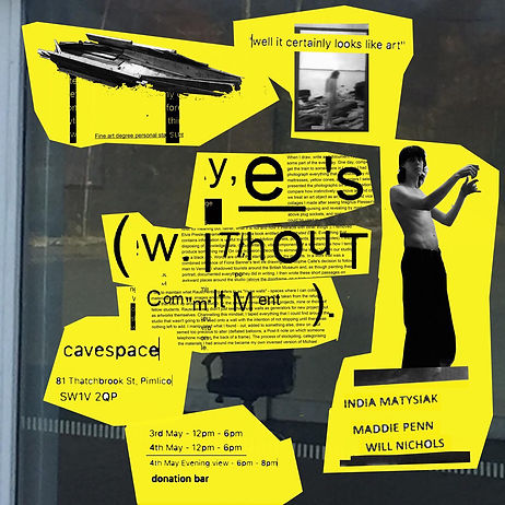 yes without commitment poster