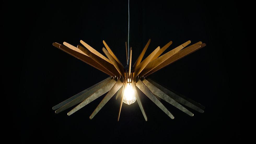 MULTI SUPER NOVA, wood lamp, pendant light, wood ceiling lamp, decorative lamp