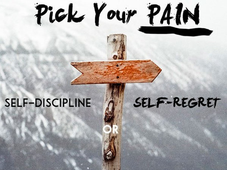 Why do we have to discipline ourselves?
