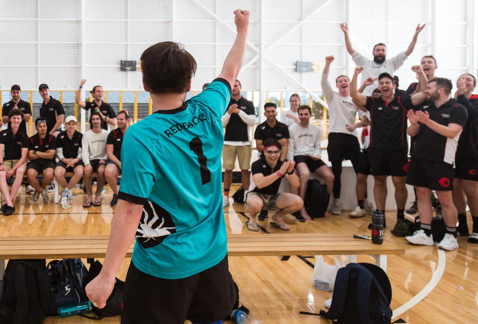 RMIT Sport Futsal win gold - 2019 AUS Un