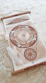 Mandala Rouage - Christine Magré art vibratoire