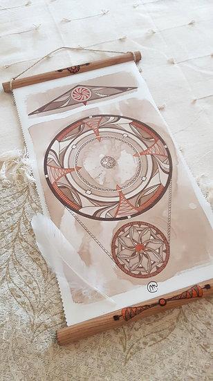 Mandala Rouage