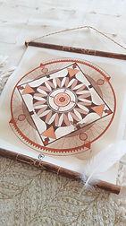 Mandala Boussole - Christine Magré art vibratoire