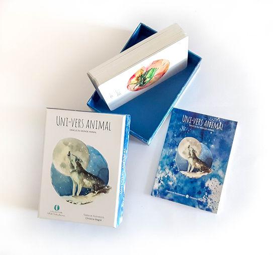 UNI-VERS ANIMAL - Oracle du monde animal - Collection Art Vibratoire - Christine Magré