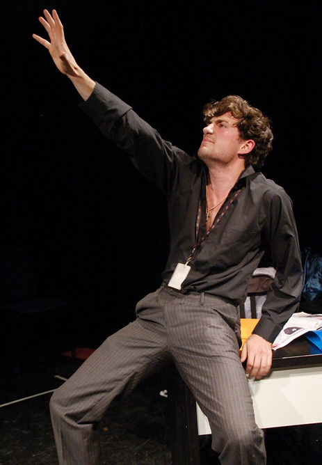 Dan played by actor Timothy O'Hara