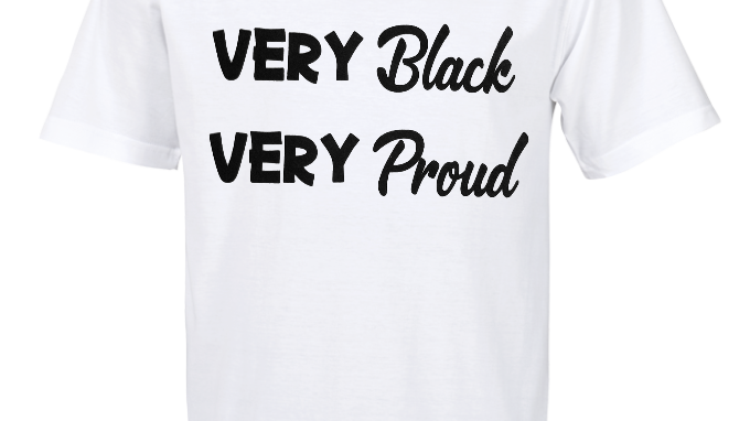 Very Black Very Proud