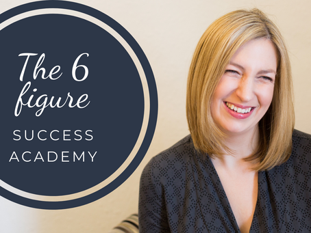 The 6 Figure Success Academy - who it's for, how it will change your business & FAQs