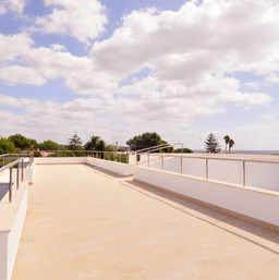 Terrasse avec vue à 360º
